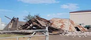 Ridge's Dairy April 2018 ruins